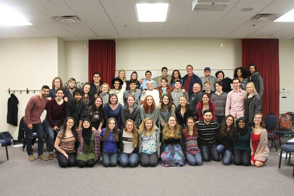 Students at Avi Shabbat